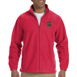 Red Eye Men's Full-Zip Fleece