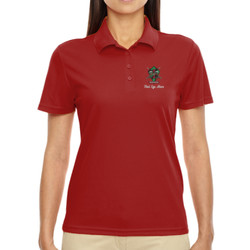 Red Eye Mom Performance Polo