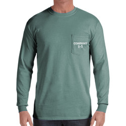 I-1 Panther Long Sleeve Throwback Tee