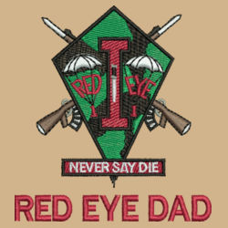 Red Eye Dad Performance Fishing Shirt Design