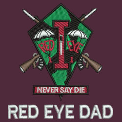 Red Eye Dad L/S Performance Fishing Shirt Design