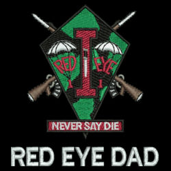 Red Eye Dad's Performance Polo Design