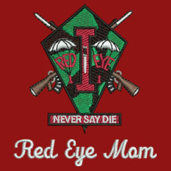 Red Eye Mom Performance Polo Design