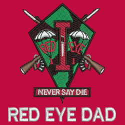 Red Eye Dad Fishing Shirt  Design