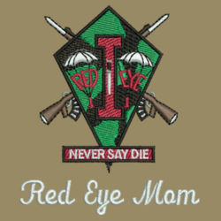 Red Eye Mom Fishing Shirt  Design