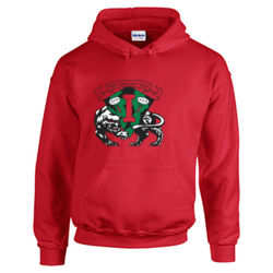 Red Eye Upperclassmen Hoodie  Thumbnail