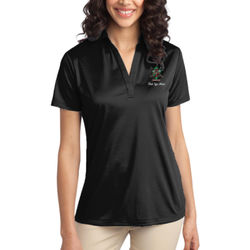 Red Eye Ladies Silk Touch Polo  Thumbnail